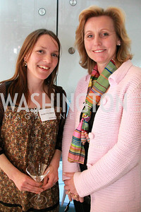 Sara Rorbecker, and Eva Hafstrom, Wife of the Ambassador of the Kingdom of Sweden. Embassy Chef Challenge. March 18, 2010. Photos by Alfredo Flores.