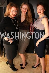 Katarina Martinovic, Adela Antic, and Lindsay Einstein. Embassy Chef Challenge. March 18, 2010. Photos by Alfredo Flores.