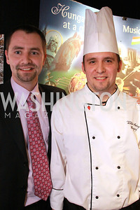 Béla Gedeon, Viktor Merényi, Chef of the Embassy of Hungary