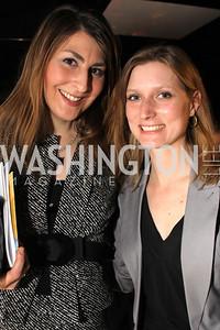 Brianne Casey, Stephanie Misar.Embassy Chef Challenge. March 18, 2010. Photos by Alfredo Flores.