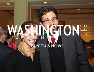 Lucy and Matt Rojansky. Eurasia Foundation's Inaugural Fundraising Dinner. January 12, 2010. Mayflower Hotel. photos by Tony Powell