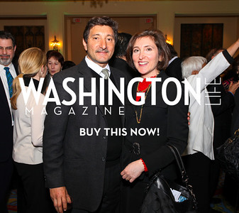 Salo and Randi Levinas. Eurasia Foundation's Inaugural Fundraising Dinner. January 12, 2010. Mayflower Hotel. photos by Tony Powell