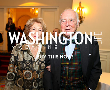 Nancy and Thompson Buchanan. Eurasia Foundation's Inaugural Fundraising Dinner. January 12, 2010. Mayflower Hotel. photos by Tony Powell