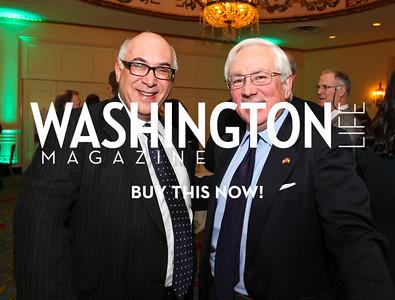 Glenn Koleeny and Pablo Marin. Eurasia Foundation's Inaugural Fundraising Dinner. January 12, 2010. Mayflower Hotel. photos by Tony Powell