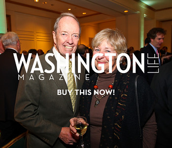 Joe and Lynne Horning. Eurasia Foundation's Inaugural Fundraising Dinner. January 12, 2010. Mayflower Hotel. photos by Tony Powell