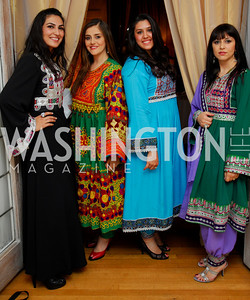 Kyle Samperton, May 14, 2010, Evening of Hope,  Mariam Wardak, Samira Atash, Hanna Karino, Alina Atash