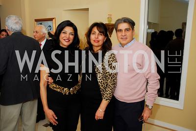 Shoreh Aghdashloo, Leila Nourazar, Joseph Nourazar