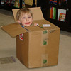 Kids are like cats.,,they love cardboard boxes and think they're s*** doesn't stink.  :D