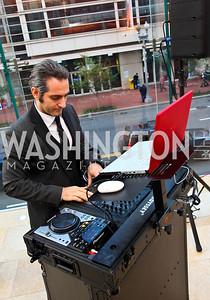 """Photo by Tony Powell. """"DJ to the White House"""" Donald Syriani. Fed Talks 2010. Harman Center. October 12, 2010"""