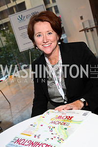 Photo by Tony Powell. Kathleen Luczak. Fed Talks 2010. Harman Center. October 12, 2010
