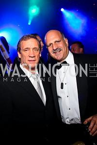 Photo by Tony Powell. Flip Saunders, Dave Dorros. Fight Night. Hilton Hotel. November 11, 2010