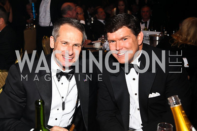 Photo by Tony Powell. Gen. Peter Pace, Bret Baier. Fight Night. Hilton Hotel. November 11, 2010
