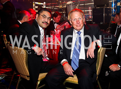 Photo by Tony Powell. Bob Hisaoka, Richard Patterson. Fight Night. Hilton Hotel. November 11, 2010