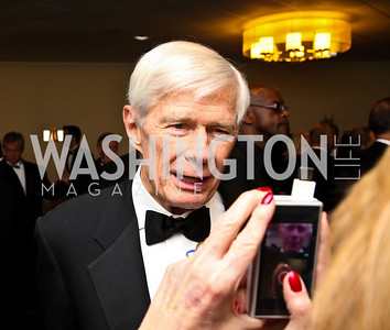 Photo by Tony Powell. Fred Malek. Fight Night. Hilton Hotel. November 11, 2010