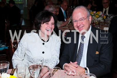 Elizabeth Stevens, Ambassador Paul Cejas. FAPE Dinner. The Department of State. April 12, 2010. Photo by Tony Powell