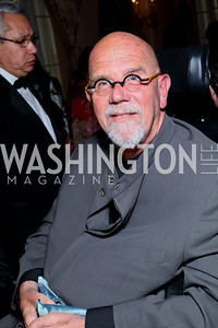 Artist Chuck Close. FAPE Dinner. The Department of State. April 12, 2010. Photo by Tony Powell