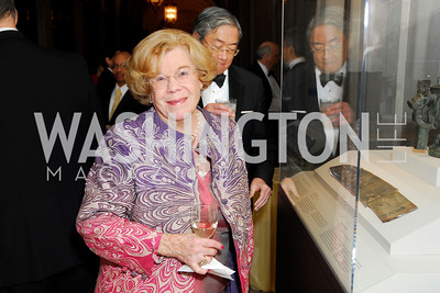 Dorothy Mowry, Freer Sackler Gala, November 17, 2010, Kyle Samperton