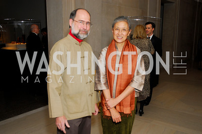 David McClelland, Mei-Ling Hom, Freer Sackler Gala, November 17, 2010, Kyle Samperton