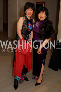 Patricia Tang, Helen Little, Freer Sackler Gala, November 17, 2010, Kyle Samperton