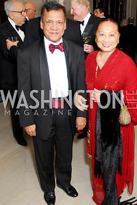 Ashok Kaveeshwar, Stuti Kaveeshwar, Freer Sackler Gala, November 17, 2010, Kyle Samperton