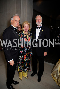 Julian Raby, Ann Nitze, Wayne Clough, Freer Sackler Gala, November 17, 2010, Kyle Samperton
