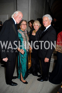 Francois Lampietti, Sheela Lampiethi, Marsha Dam, Kenneth Dam, Freer Sackler Gala, November 17, 2010, Kyle Samperton