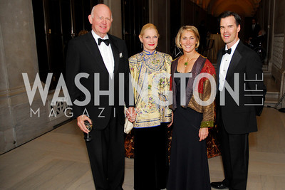 Michael Pillsbury, Susan Pillsbury, Kate Ziglar, George Rogers, Freer Sackler Gala, November 17, 2010, Kyle Samperton