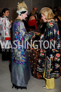 Mary McFadden, Ann Nitze, Freer Sackler Gala, November 17, 2010, Kyle Samperton