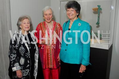 Cynthia Helms, Caroline Macomber, Louis Duemling, Freer Sackler Gala, November 17, 2010, Kyle Samperton