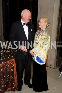Michael Pillsbury, Susan Pillsbury, Freer Sackler Gala, November 17, 2010, Kyle Samperton