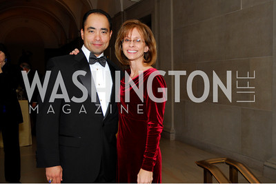 Giovanni Kotoriy, Elizabeth Kotoriy, Freer Sackler Gala, November 17, 2010, Kyle Samperton