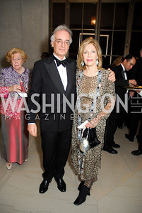 Julian Raby, Jillian Sackler, Freer Sackler Gala, November 17, 2010, Kyle Samperton