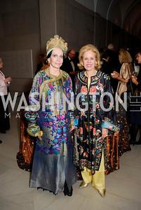 Mary McFadden, Ann Nitze, Freer Sackler Gala, November 17, 2010, Kyle Samperton