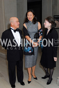 Leopold Swergold, Massako Shin, Shirley Johnson, Freer Sackler Gala, November 17, 2010, Kyle Samperton
