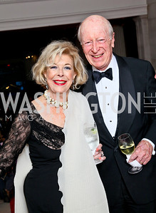 Bonnie Nicholson, Austin Kiplinger. Photo by Tony Powell. 55th Annual Corcoran Ball. April 16, 2010