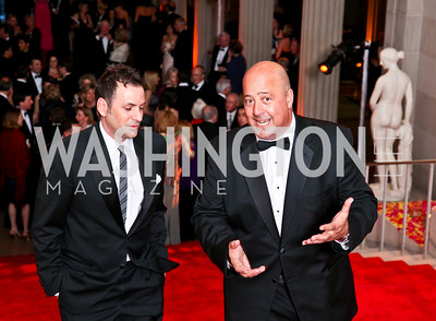 Michael Clements, Travel Channel host Andrew Zimmern. Photo by Tony Powell. 55th Annual Corcoran Ball. April 16, 2010