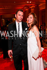 Michael Clements, Anchyi Wei. Photo by Tony Powell. 55th Annual Corcoran Ball. April 16, 2010
