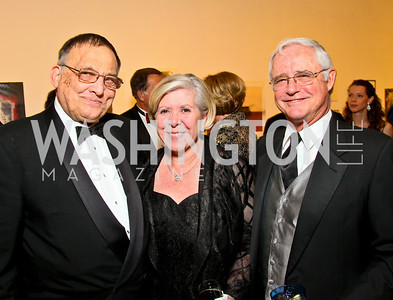 Dave Oliver, Leah and Jack Gansler. Photo by Tony Powell. 55th Annual Corcoran Ball. April 16, 2010