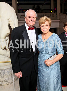 Mike and Barbara Wynn. Photo by Tony Powell. 55th Annual Corcoran Ball. April 16, 2010