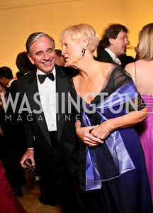 Michael Petite, Sally Webster. Photo by Tony Powell. 55th Annual Corcoran Ball. April 16, 2010