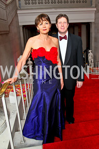 Lady Julia Sheinwald and British Ambassador Sir Nigel Sheinwald. Photo by Tony Powell. 55th Annual Corcoran Ball. April 16, 2010