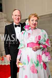 Gant and Fran Redmon. Photo by Tony Powell. 55th Annual Corcoran Ball. April 16, 2010