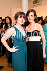Sarah Reinbrecht, Emily Hankin. Photo by Tony Powell. 55th Annual Corcoran Ball. April 16, 2010