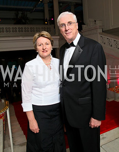 Marie Collins and Irish Ambassador Michael Collins. Photo by Tony Powell. 55th Annual Corcoran Ball. April 16, 2010