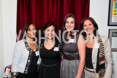 Dr. Vicki Cooper, Dr. Lucia Ditch, Danielle Nathan, Stacy Gorin. Photo by Tony Powell. Georgetown Lombardi Women & Wine V. Morton's The Steakhouse. April 19, 2010