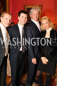 Photo by Alfredo Flores. Emerson Bruns Scoti Darling Walt Steimel Helga Thomas . An International Evening of Excellence In Honor of Global Kids in D.C. at the Residence of the French Ambassador. December 12, 2010