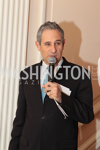Photo by Alfredo Flores. Francois Rivasseau, Deputy Chief of Mission, Embassy of France to the United States.  An International Evening of Excellence In Honor of Global Kids in D.C. at the Residence of the French Ambassador. December 12, 2010