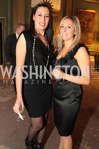 Photo by Alfredo Flores. Joanne Cardone Lauren Lamey . An International Evening of Excellence In Honor of Global Kids in D.C. at the Residence of the French Ambassador. December 12, 2010