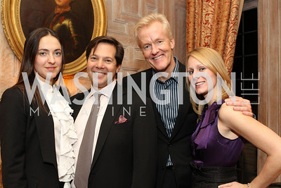 Photo by Alfredo Flores. Katerina Ingersoll Chipp Sundground Rick Rickerstein Julie Chase . An International Evening of Excellence In Honor of Global Kids in D.C. at the Residence of the French Ambassador. December 12, 2010