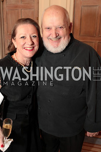 Photo by Alfredo Flores. Michel Richard, Annie King Boutin . An International Evening of Excellence In Honor of Global Kids in D.C. at the Residence of the French Ambassador. December 12, 2010